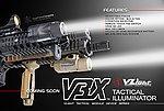 點一下即可放大預覽 -- 黑色~VFC V3X 戰術槍燈(附老鼠尾開關)
