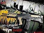 點一下即可放大預覽 -- 一芝軒 ICS L85 A2 Carbine 犢牛式 英國皇家短版卡賓槍,電動槍,步槍(ICS-87)