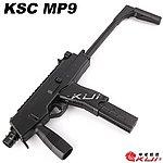 點一下即可放大預覽 -- 黑色 KSC/KWA MP9 GBB 瓦斯槍,衝鋒槍,BB槍,長槍(戰術握把)
