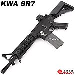 點一下即可放大預覽 -- KWA/KSC M4 SR7 CQB 海豹托 全金屬電動槍,電槍(二代金屬 9mm BOX)