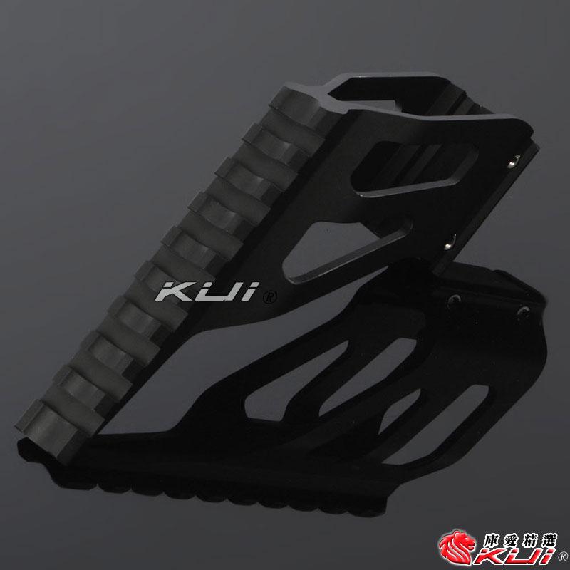 黑色~KJ KP05 KP06 KP07 KP08 KP11 / WE 1911 / WG 321 通用鏡座,魚骨鏡橋