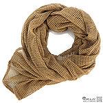 點一下即可放大預覽 -- 狼棕~網狀方巾、圍巾、披肩、頭巾(變形金鋼電影款)