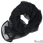 點一下即可放大預覽 -- 黑色~網狀方巾、圍巾、披肩、頭巾(變形金鋼電影款)