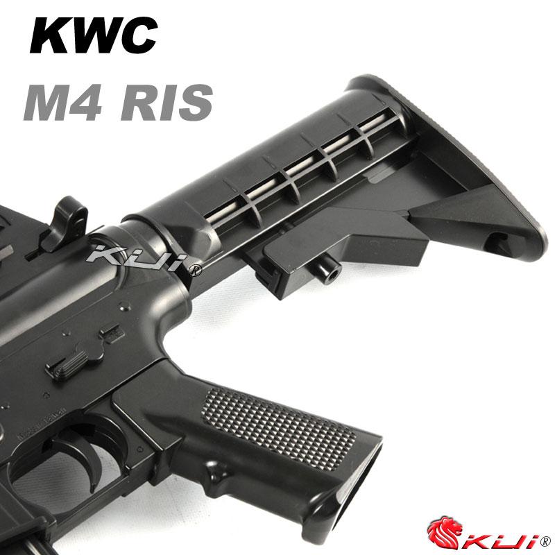 KWC M4A1 RIS HOP-UP版手拉空氣步槍,長槍,BB槍