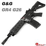 特價!【展示品出清特惠$4200】反恐部隊都在用!黑色~怪怪 G&G GR4 G26 M4 Plastic Advanced 電動槍,電槍,長槍,BB槍(槍機可動)
