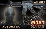 點一下即可放大預覽 -- 利盈 國軍 M4A1 全金屬伸縮托電動槍