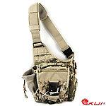點一下即可放大預覽 -- ACU數位迷彩~特戰勤務鞍袋,旅行包,單肩包,休閒包,斜背包
