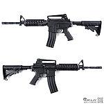 點一下即可放大預覽 -- LONEX 震隆 14.5吋 M4 RIS AEG 電動槍,步槍,長槍(L4-05)