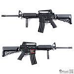 點一下即可放大預覽 -- LONEX 震隆 16吋 SOPMOD M4 AEG 電動槍,步槍,長槍(海豹托L4-09)