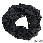 黑色網狀圍巾、方巾、圍巾、披肩、頭巾~可當偽裝網使用