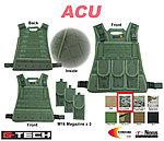 點一下即可放大預覽 -- ACU~警星 G-Tech 軍警戰術裝備 模組化輕量背心式貼身袋,戰術背心,彈袋,彈夾袋,收納袋