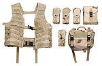 點一下即可放大預覽 -- 三沙迷彩~警星 軍警戰術裝備 M.O.D. II 戰術裝備背心式貼身袋(生存遊戲用,彈匣袋,裝備袋)