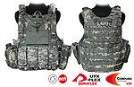點一下即可放大預覽 -- ACU~警星 軍警戰術裝備 Force Recon 戰術裝備背心式貼身袋,抗彈背心