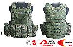 點一下即可放大預覽 -- 數位迷彩~警星 軍警戰術裝備 Force Recon 戰術裝備背心式貼身袋,抗彈背心