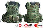 點一下即可放大預覽 -- 叢林迷彩~警星 軍警戰術裝備 Force Recon 戰術裝備背心式貼身袋,抗彈背心
