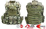點一下即可放大預覽 -- 多地形迷彩~警星 軍警戰術裝備 Force Recon 戰術裝備背心式貼身袋,抗彈背心