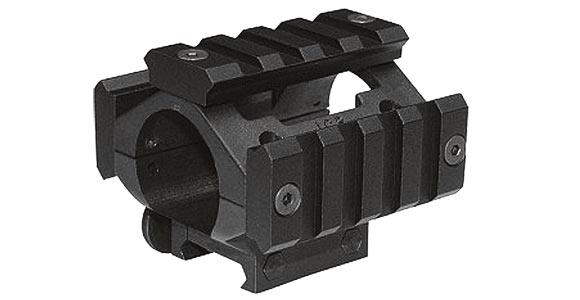 一芝軒 ICS 槍燈夾具 鏡架 鏡座 鏡環 寬軌 魚骨 (21mm)(MC-75)