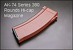點一下即可放大預覽 -- SRC SR47 AK74U 高容量彈匣(380發)(SAK-62)