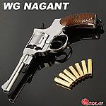 點一下即可放大預覽 -- 限量優惠!電鍍銀~WG NAGANT 納甘 M1895 CO2 轉輪手槍,CO2槍