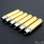 點一下即可放大預覽 -- 六顆~WG CO2 左輪手槍專用全金屬彈殼~台灣製造
