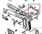 點一下即可放大預覽 -- KJ M9 扳機連桿 (零件編號#64)