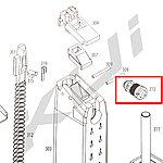 點一下即可放大預覽 -- KWA KRISS 彈匣出氣閥 (零件編號 #313 )