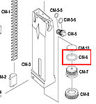 點一下即可放大預覽 -- KJ M9 CO2槍 剌破嘴O環(零件編號#CM-6)