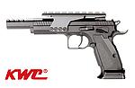 點一下即可放大預覽 -- 新版~KWC CZ-75 全金屬 CO2 直壓槍~競技版(附鏡橋)(KCB89),手槍,IPSC