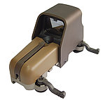點一下即可放大預覽 -- 沙色~傑電 HurricanE  553 快速瞄準器,快瞄鏡,內紅點(紅綠光)