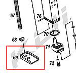 點一下即可放大預覽 -- KJ G23 彈夾底板,彈匣底蓋(#69)