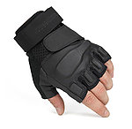 點一下即可放大預覽 -- S號~KUI 地獄風暴半指手套,戰術手套(生存遊戲、單車族、騎士、賽車、登山、釣魚可用)