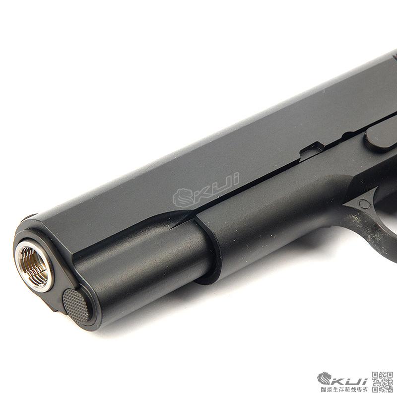 雙彈匣 軍版~WE M1911 全金屬瓦斯槍,手槍