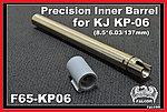 點一下即可放大預覽 -- 137mm~FALCON  戰隼 KJ KP06 6.03 精密管,內管,加長管,延長管