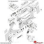 點一下即可放大預覽 -- 利盈 國軍 T91 電動槍 爆炸圖