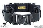 點一下即可放大預覽 -- 黑色~愛默生 EMERSON MOLLE 系統軟墊巡邏 腰帶,戰術腰封,腰靠
