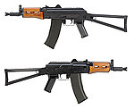 點一下即可放大預覽 -- 怪怪 G&G GKS-74U AK74U 全鋼製 電動槍,電槍