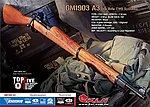 點一下即可放大預覽 -- G&G GM1903A3 全金屬實木托 百年經典步槍 ( 瓦斯版 )