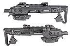 CAA 正廠真槍廠授權刻字 RONI G1 Carbine Kit 戰術衝鋒槍套件(G17 G18C G19 G23F / MARUI KSC VFC WE)