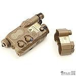 沙色~類AN / PEQ-16 電池盒(可裝電池版)