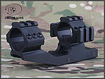 點一下即可放大預覽 -- 30mm 三面魚骨一體式狙擊鏡架,夾具