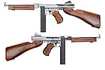 �Ȧ�~King Arms Thompson M1A1 Military ������ ���i�� �q�ʺj