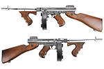 �Ȧ�~King Arms Thompson M1928 Chicago �ۥ[�����r�� ���i�� �q�ʺj