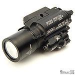 點一下即可放大預覽 -- 火麒麟 Fire Kylin X400 紅雷射+ LED 強光戰術槍燈~T2000