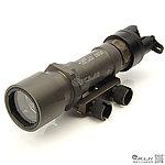 點一下即可放大預覽 -- 火麒麟 Fire Kylin M951 LED 強光戰術槍燈,電筒 (400Lm,鋼鐵色,附老鼠尾)