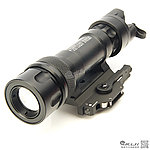 點一下即可放大預覽 -- 火麒麟 Fire Kylin M951 LED 戰術槍燈,電筒(聚光型,快拆式,附老鼠尾)
