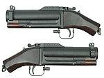 點一下即可放大預覽 -- 實木版~King Arms M79 Grenade Launcher 短版榴彈發射器