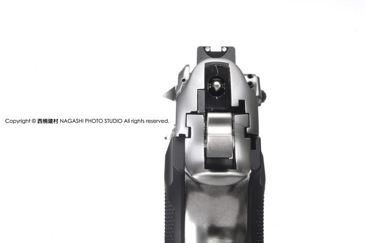 特價!限量優惠!仿真單連發版~銀色 WE M9全金屬瓦斯槍,BB槍,瓦斯手槍,短槍(彩盒版)