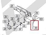 點一下即可放大預覽 -- KWC 1911 CO2 擊鐵壓簧導桿(#F01)