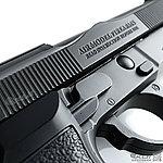 點一下即可放大預覽 -- HFC (戰術版)貝瑞塔 M9A1 全金屬瓦斯手槍 (豪華槍箱版)(已安裝強力擊錘簧)