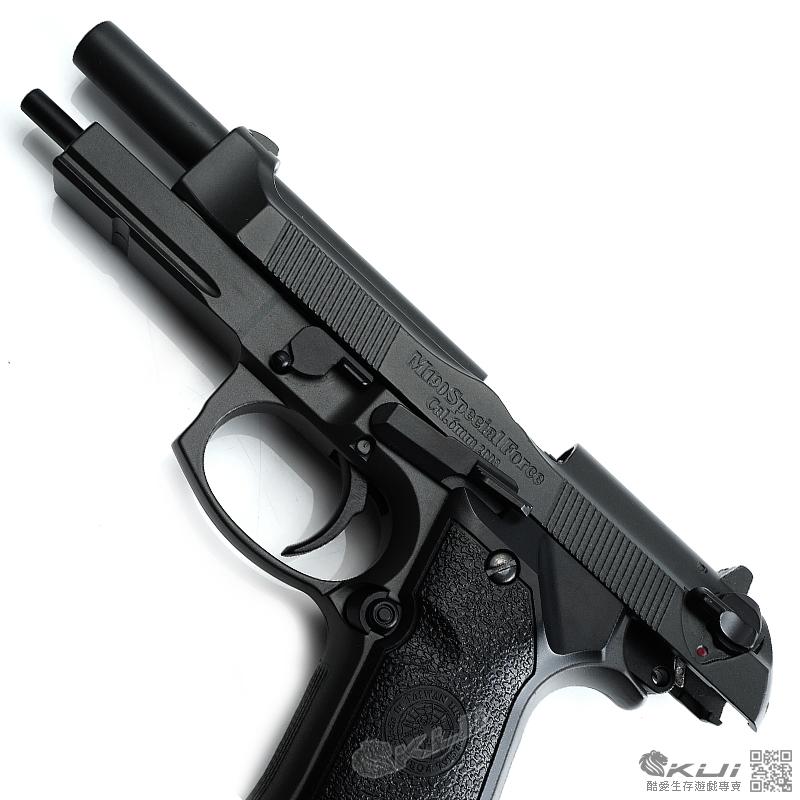 HFC (戰術版)貝瑞塔 M9A1 全金屬瓦斯手槍 (豪華槍箱版)(已安裝強力擊錘簧)